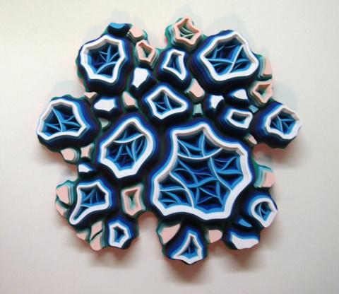 Charles Clary | PICDIT #design #color #inspiring #artwork #art #paper