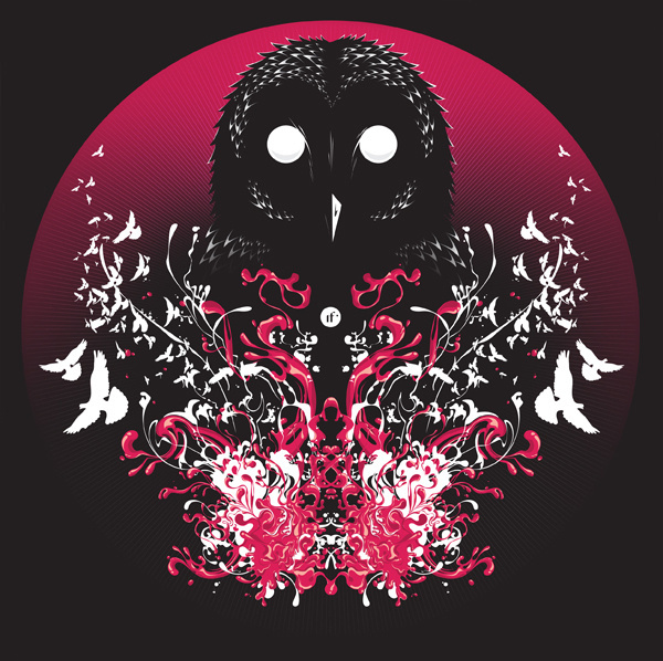 We Came At Night #erdokozi #red #owl #white #death #black #silence #night #birds #attack #erik #splash #organic
