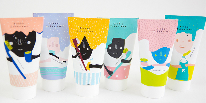 Top 10 Packaging Projects and Articles — The Dieline - Package Design Resource #kids #toothpaste #packaging