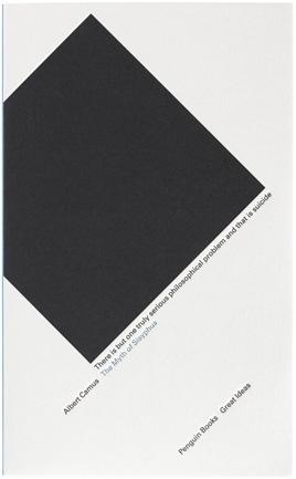 The Book Cover Archive: The Myth of Sisyphus, design by David Pearson #penguin #david #books #pearson