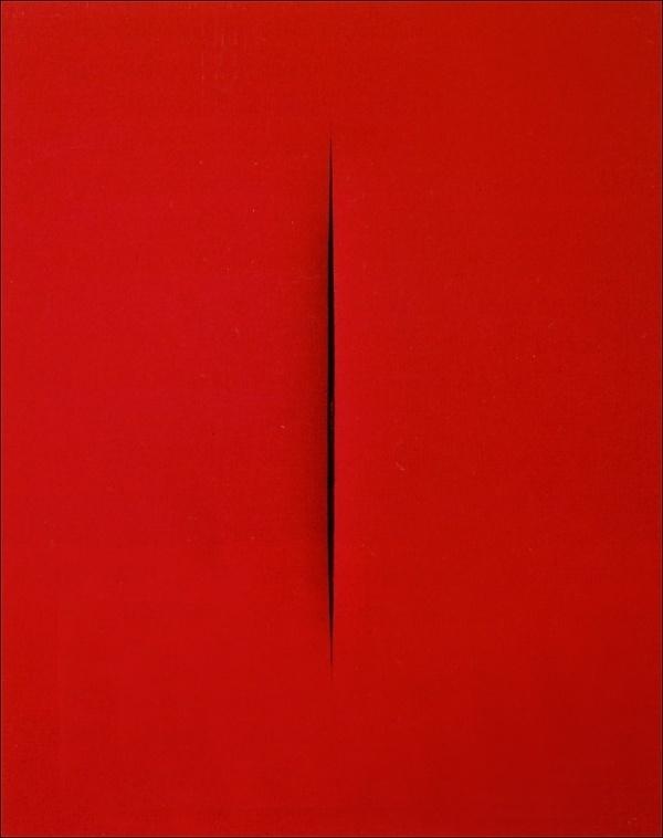 PRIVATE » Blog Archive » CONCETTO SPAZIA... : ルーチョ・フォンタナ/Lucio Fontana作品画像コレクション - NAVER まとめ #art