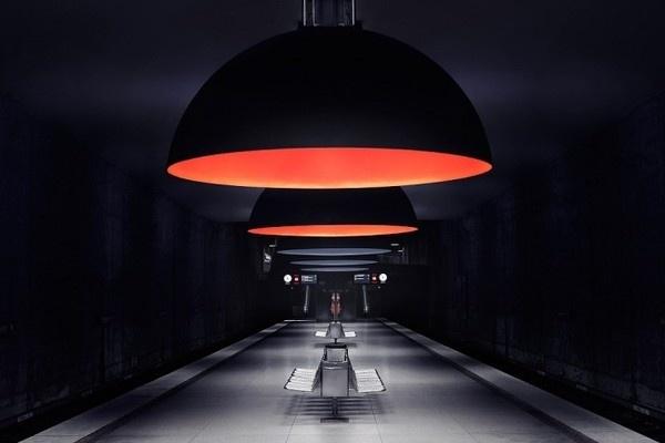 Munich Subway in defringe.com #subway #defringe #photography #munich