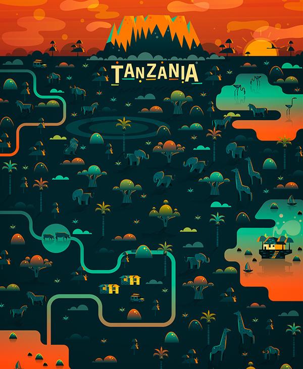Cosmópolis Pt.2 on Behance #city #illustration