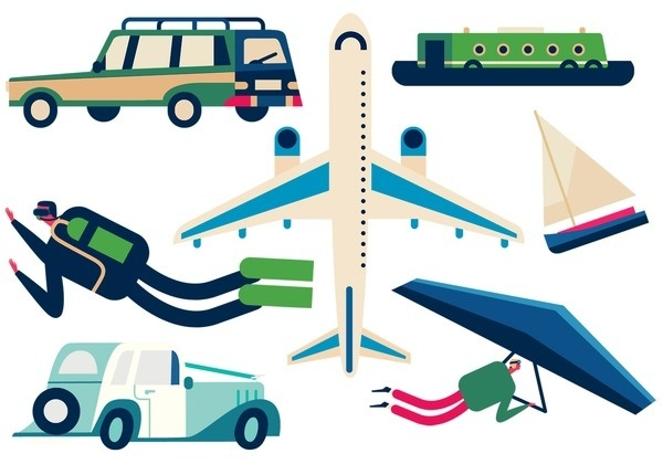 These are images and assets I created for a Benecol advert I made with Mother London & Vector Meldrew #illustration