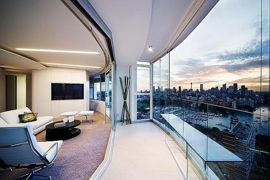 One Floor Apartment With Panoramic Views In Darling Point Sydney Design You Trust