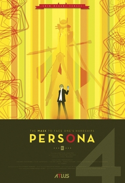 Persona 4 Art Print by Phil Giarrusso | Society6