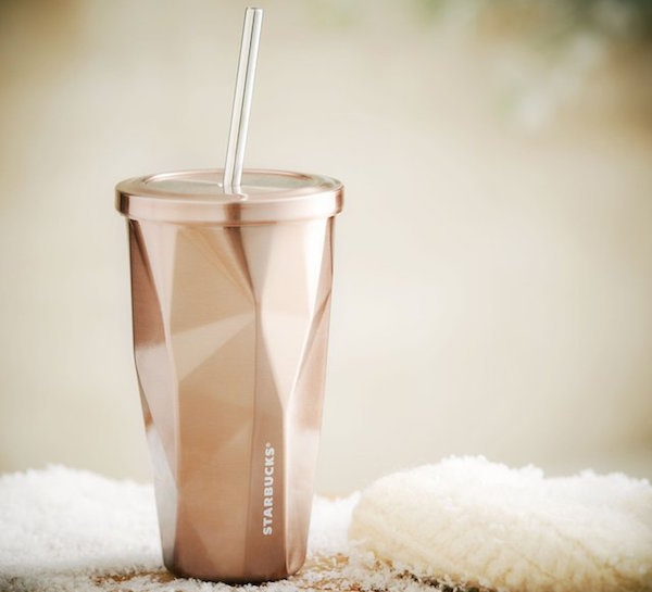 Rose Gold Stainless Steel Cold Cup #tech #flow #gadget #gift #ideas #cool