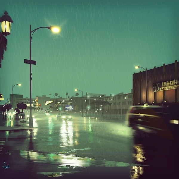 colorado-blvd.jpg (1000×1000) #urban #rob #blvd #colorado #illustration #h