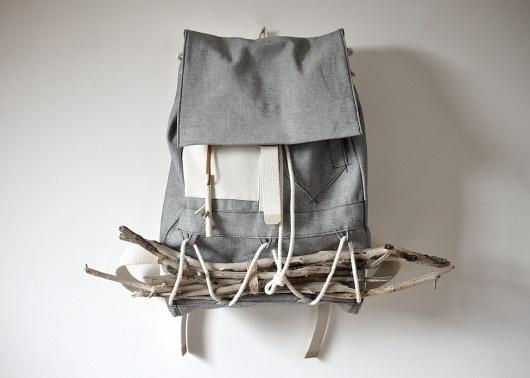 LAYERxlayer — Wayfarer Pack - Grey #bag #layerxlayer #gray