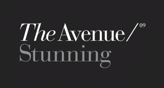 Bostock and Pollitt - design agency London - The Avenue #fashion #logo #identity