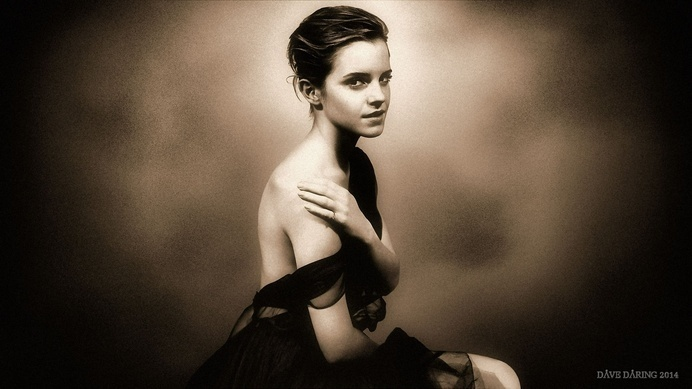 Emma Watson Portrait #inspiration #photography #celebrity