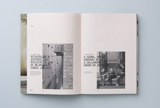 1.1 Architects | COÖP #print #layout #typography