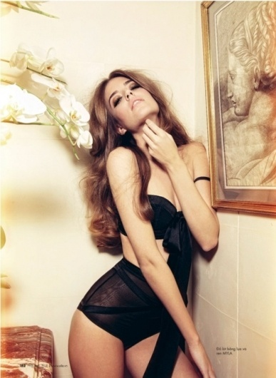 Merde! - Fashion photography (Clara Alonso, Elle Vietnam,... #fashion