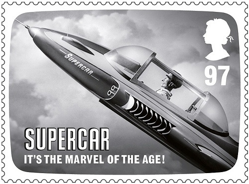Eye blog » Scarlet letter. Lenticular stamps celebrate the work of Thunderbirds and Stingray creator #stamps
