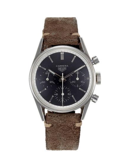 Vintage Watches Heuer Carrera (c. 1960s) #vintage #watch