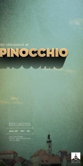 EVCT 2010-2011 Posters   TunnelBravo #type #pinochio #poster #tunnelbravo