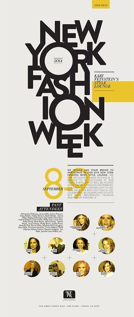 NY Fashion Week, editorial