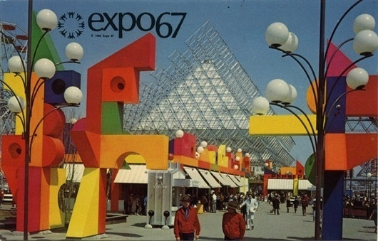 WANKEN - The Blog of Shelby White » Behind the Expo 67 Logo #expo #world #fair #1960s #pavilion #67