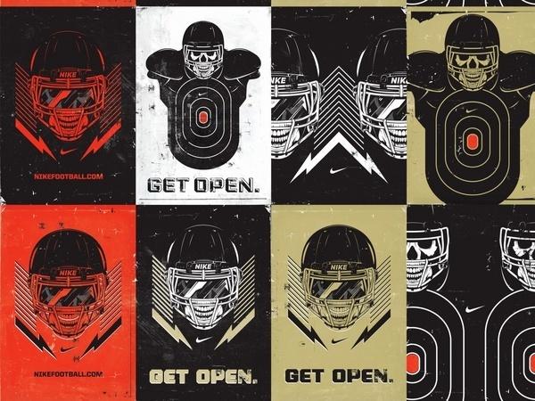 nike the opening 3 2 #nike #illustration #sports