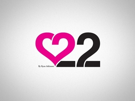 Love 22 on the Behance Network #identity
