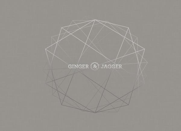 Ginger & Jagger #wood #urniture #gold #geometric