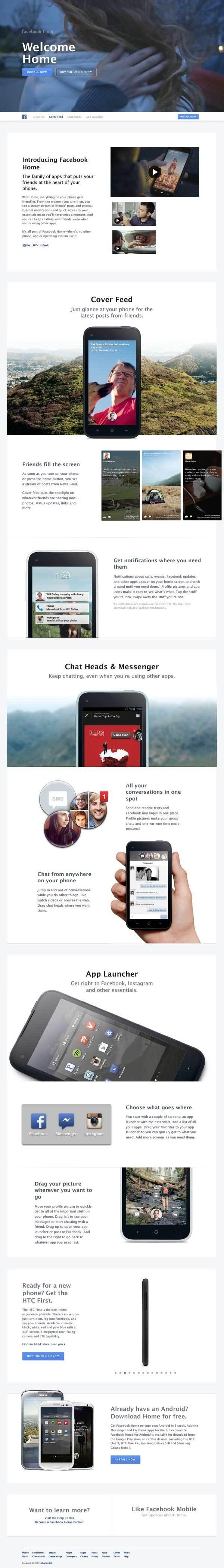 facebook #design #web #ui