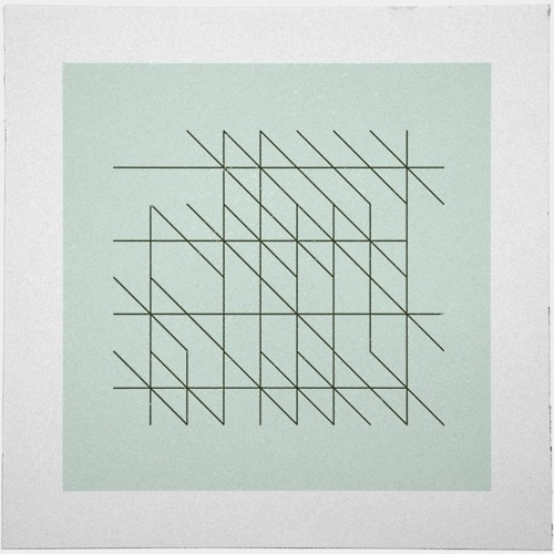 Geometry Daily #abstract #line #geometry #print #geometric #simple #poster