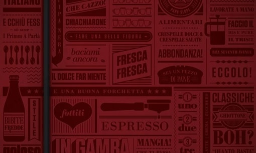 design work life » cataloging inspiration daily #fonts #text #red #bold
