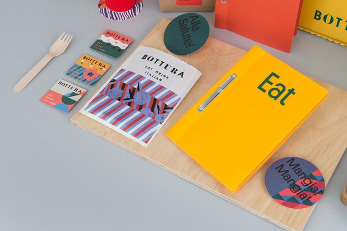 Bottura #itallian #menu #print #identity #food