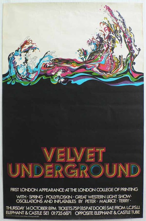 this isn't happiness™ photo caption contains external link #print #velvet #poster #underground