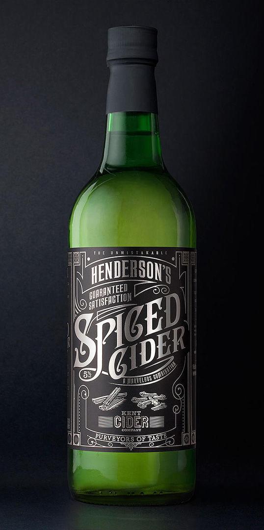 Calligraphy Cider Packaging : cider packaging