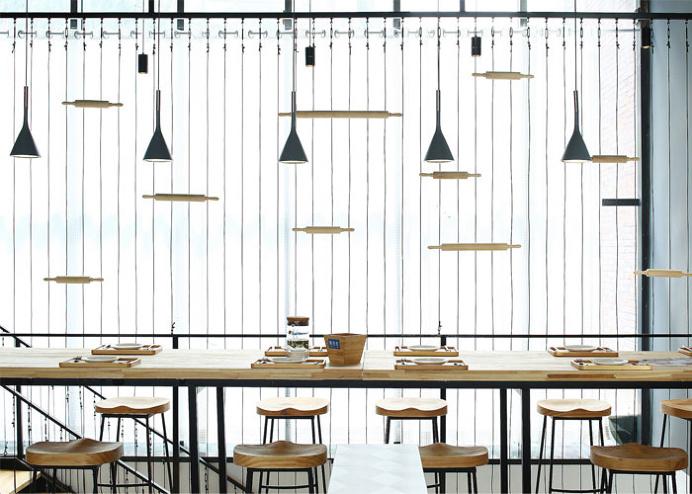 Luminous Restaurant Space by Zones Design - InteriorZine