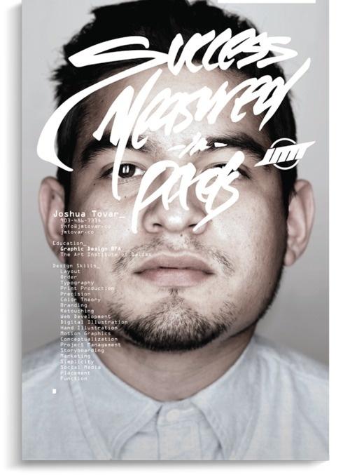 Joshua Tovar Self Promotion #design #photography #layout #magazine #typography