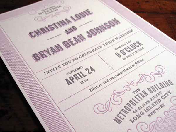 Bryan #wedding #stationary #invitation