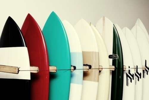 VISUAL CLUSTER #photography #colors #surf #board