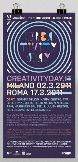 Creativity Day #poster #creativity #day