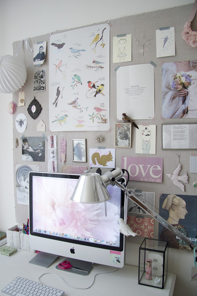 Home office by Iris #office #desk #home #workspace