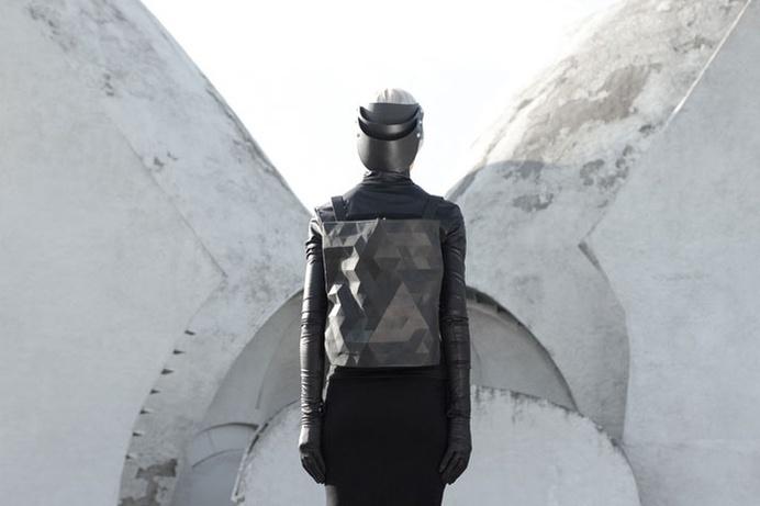 Leather Accessories by Konstantin Kofta #bag #facet #futuristic #leather