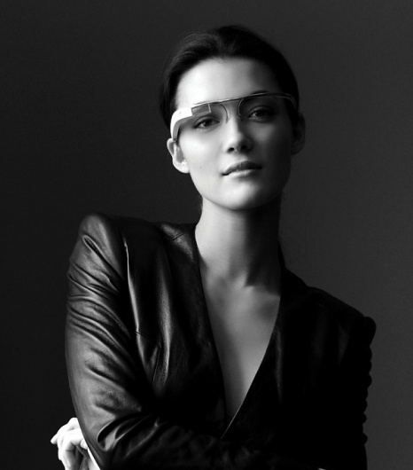 Очки дополненной реальности от Google / Технологии и ноу-хау / Мир в фотографиях #glasses #tech #white #photo #reality #black #augmented #and #google