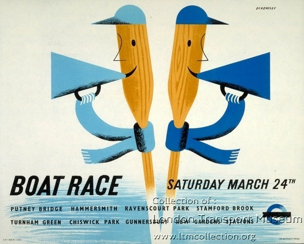 Poster 1983/4/10993 - Poster and poster artwork collection, London Transport Museum #poster