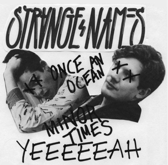 Strange Names #album #sleeve #record #handwritten #music #single #collage #band