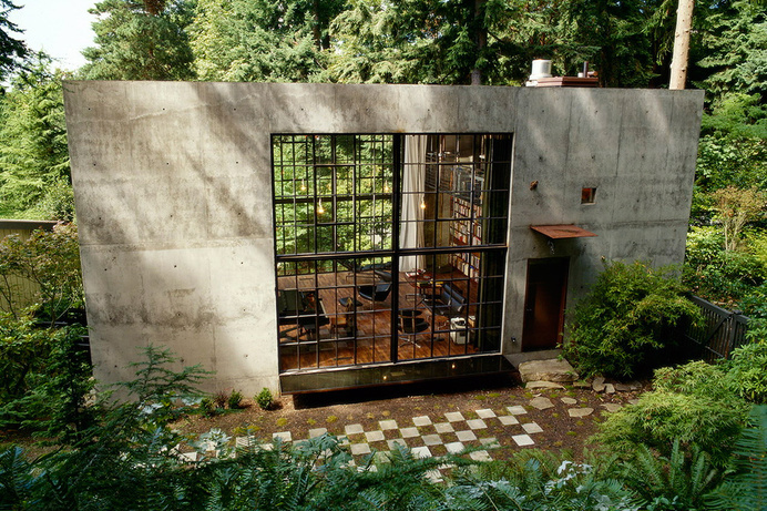 The Brain by Olson Kundig Architects #concrete #house