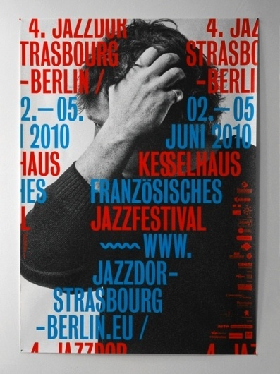 - jazzdor 10 : HELMO #print #poster