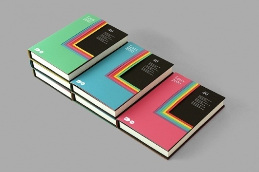 Libro Laus 2010 #hey #heystudio #design #color #book #laus #cover #2010 #type #libro