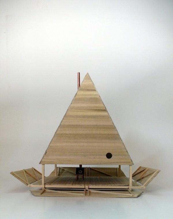 Jägnefält Milton: Black Lodge Thisispaper Magazine #architecture