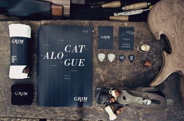 Grim Guitars - Luís Oliveira - Graphic . Interactive Design