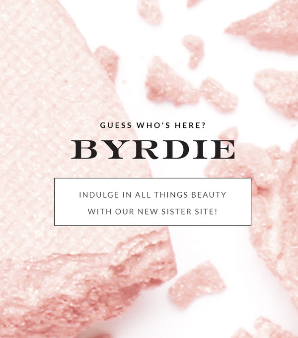 Bookmark It: Our Brand New Beauty Site Byrdie! #shadow