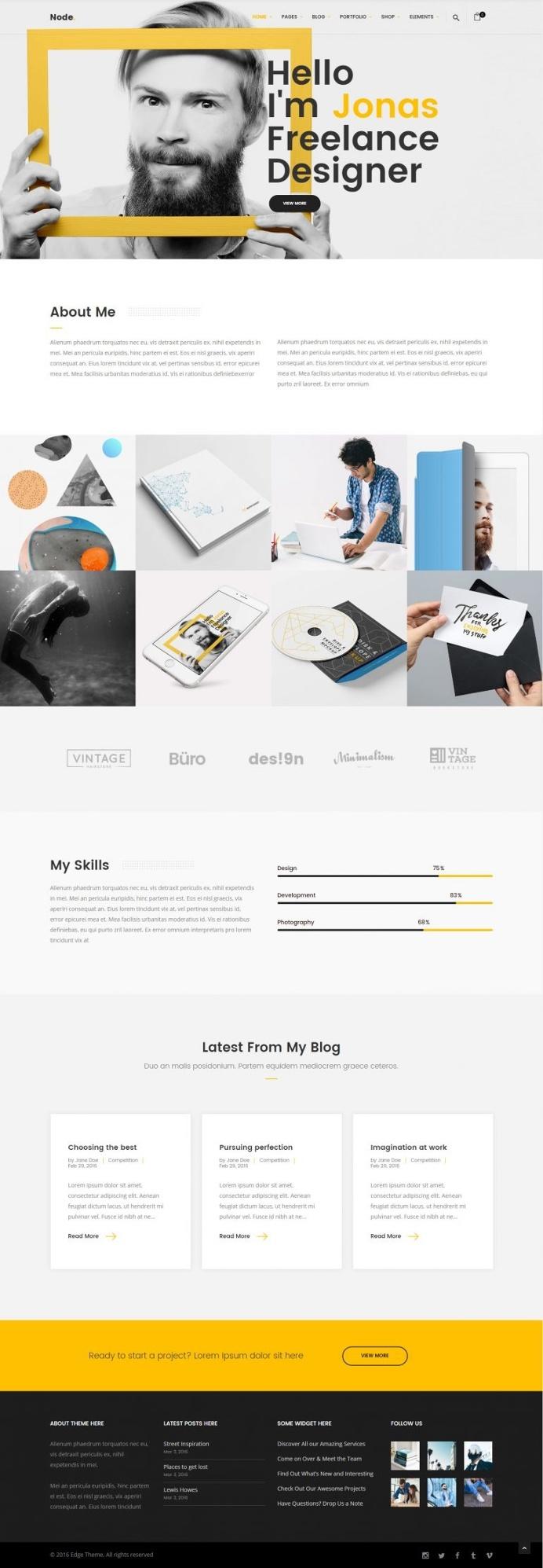 Node – Modern & Clean Multi-Concept