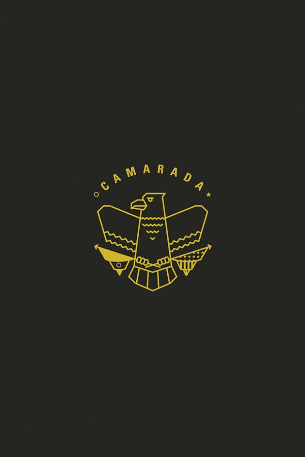 Logo for cross-cultural idea #branding #cultura #icon #camarada #culture #iphone #eagle #comrade #logo #wallpaper