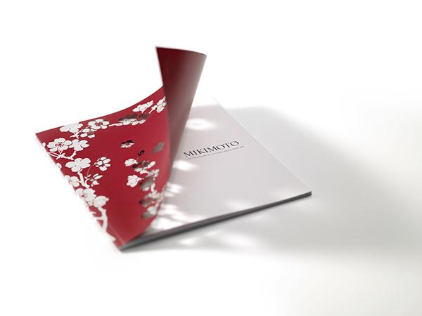 MIKIMOTO, Japanese Jeweller Annual Retail Brochure 2011 on Behance